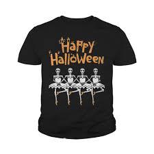 happy halloween skeleton ballet dancer hoodie sweater and long sleeve
