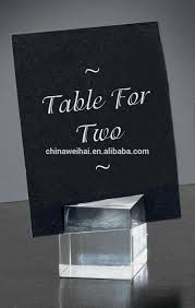 Table Card Holders by Acrylic Place Card Holders Buy Acrylic Place Card Holders