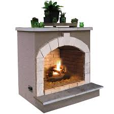 shop outdoor fireplaces at lowes com