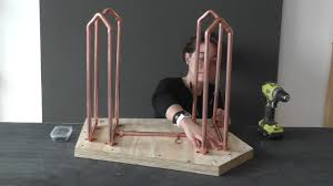 Coffee Table Stands How To Make A Coffee Table With Copper Legs
