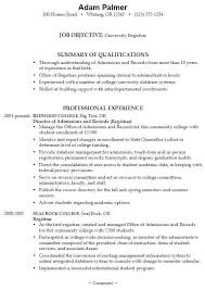college application sample resume college resume examples for