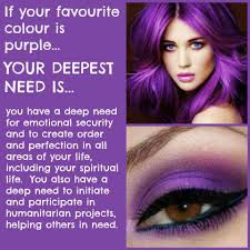 Favourite Color Purple According To The Psychology Of Colour Your Favourite