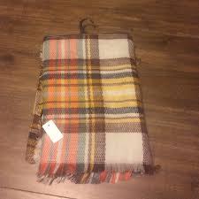 Brown Tartan Rug Famous Tartan Blanket Scarf Yellow Plaid Os From Christina U0027s