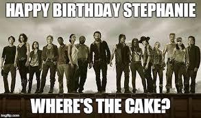 Walking Dead Happy Birthday Meme - walking dead 113 imgflip