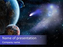 templates powerpoint earth asteroid planet earth powerpoint template id 0000094785