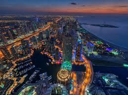 dubai blackout horizon photography the air united arab emirates