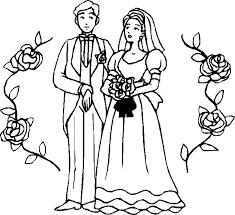 dessin mariage dessins de mariage à colorier