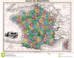 Map France by Antique 1870 Map Of France Royalty Free Stock Images Image 881739