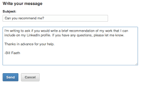 Emailing A Resume For A Job by 5 Best Practices For Requesting Linkedin Recommendations