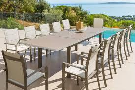 Table De Cuisine En Verre Avec Rallonge by Table Extensible Design Table De Jardin Extensible