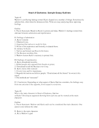 narrative essay outline exle exle of a outline for an essay student the ojays and paper on