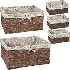 Amazon Nesting Baskets 5 piece set – Storage and Organization
