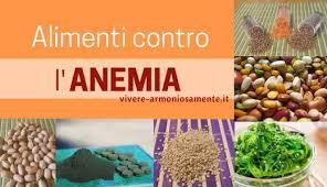 alimentazione ferro basso alimenti per anemia 12 cibi contro il ferro basso