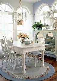 Chic Dining Room Dining Room Amazing Shabby Chic Dining Room With Blue Rug Shabby