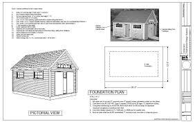 Two Story Barn Plans 24 X 36 X 8 U2013 2 Story Barn Workshop Pole Barn Plans