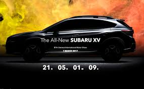 subaru crosstrek 2018 colors 2018 subaru xv leaked online before geneva reveal performancedrive