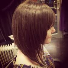shorter hairstyles with side bangs and an angle the 25 best graduated bob with fringe ideas on pinterest a line