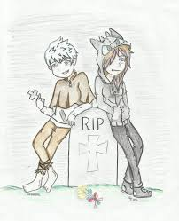 jack frost and alex sketch vampire au by jaklyn frost on deviantart
