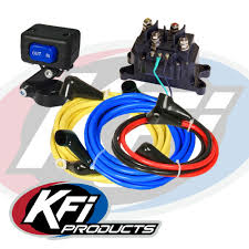 universal 12v wiring kit kfi atv winch mounts and accessories