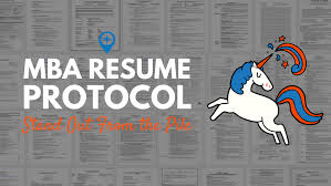 mba career objective for resume mba resume protocol career protocol mba resume protocol