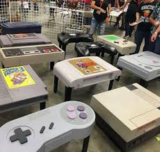 themed coffee table console themed coffee tables gaming