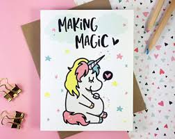 Card Making Magic - pregnancy announcement card baby announcement funny