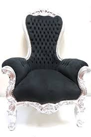 Throne Chair Majestic King Throne Chair Original Silver White