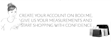 save your body measurements with bodi me to shop fashion at your
