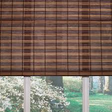 Woven Roman Shades Shop Levolor Fruitwood Light Filtering Woven Wood Natural Roman