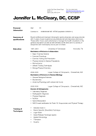 Sample Resume For Medical Laboratory Technician by Sample Physician Assistant Resume Format Option I Resume Cv