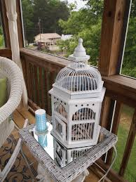screened porch decorating a cultivated nest birdcage idolza