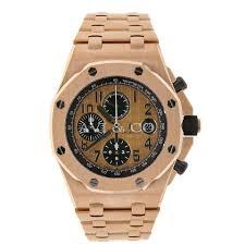 audemars piguet royal oak offshore chrono 42 rose gold watch pink