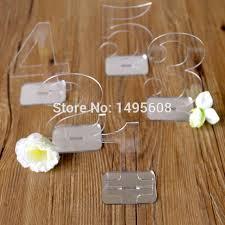 acrylic table numbers wedding wedding decor wedding table numbers acrylic table number for wedding