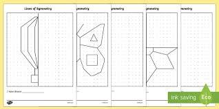 symmetry worksheets symmetry worksheets reflections