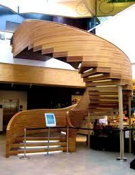 furniture ravishing modern wooden staircase designs cute