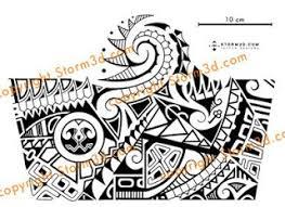 tattoo design in polynesian mixed tribal style que la historia
