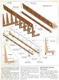 Wooden Storage Rack Plans by Mobile Plywood Storage Rack Plans U2022 Woodarchivist
