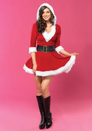 mrs claus costumes sassy mrs claus costume