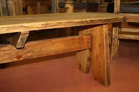Rustic Wooden Bench Wooden Bench 79