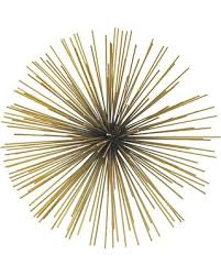 Gold Wall Decor by Starburst Wall Decor Roselawnlutheran