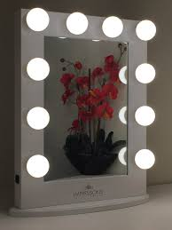 Rialto Mirrors Lighted by Furnitures Using Stylish Design Of Lighted Makeup Mirror For