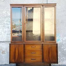 sunbeam vintage kitchen hutch china cabinet