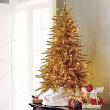 treetopia toasted chagne tinsel tree