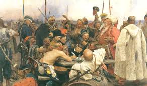 The Ottoman Turks Painting Of The Day Reply Of The Zaporozhian Cossacks To Sultan