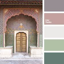 image result for forest green and dusty rose color palette