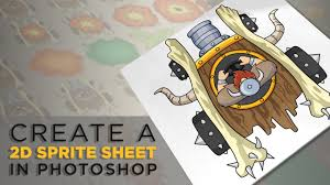 Tip Sheet For Your Creative Photoshop Top Tip Create A Sprite Sheet For Your Own 2d