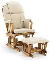 Glider Ottomans Aldo Leather Glider Ottoman Cabernet Glider Rocking Chair