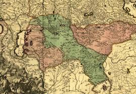 Volga River Map Ethnic Diversity Norka