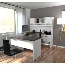 u shaped workstation desks bestar innova u shaped workstation desk free shipping today
