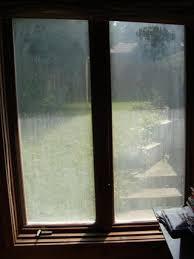 fogged glass door foggy glass you don u0027t need a new window